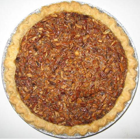 Click to enlarge Pecan Pie - Single Crust