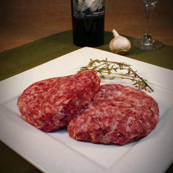 Click to enlarge  SALE - Mangalitsa Gourmet Pork Burgers