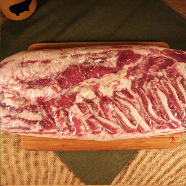 Click to enlarge Mangalitsa Sheet Belly (uncured) - Large