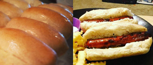Click to enlarge Honey Wheat Hot Dog Buns