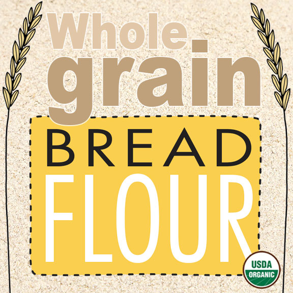 Click to enlarge Organic Whole Grain Bread Flour