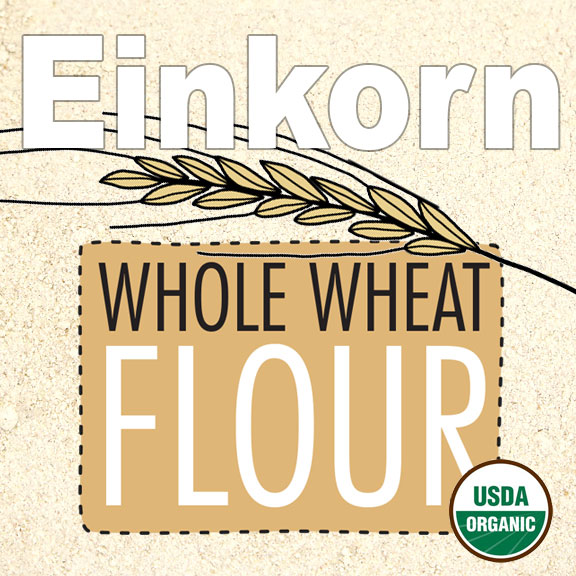 Click to enlarge Organic Einkorn Whole Wheat Flour