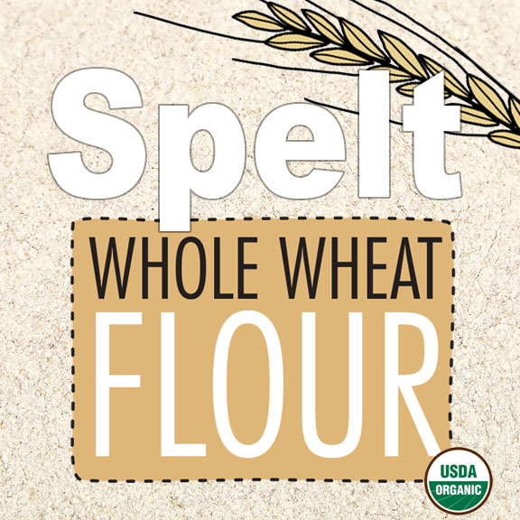 Click to enlarge Organic Spelt Whole Wheat Flour