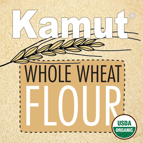 Click to enlarge Organic Kamut® Whole Wheat Flour