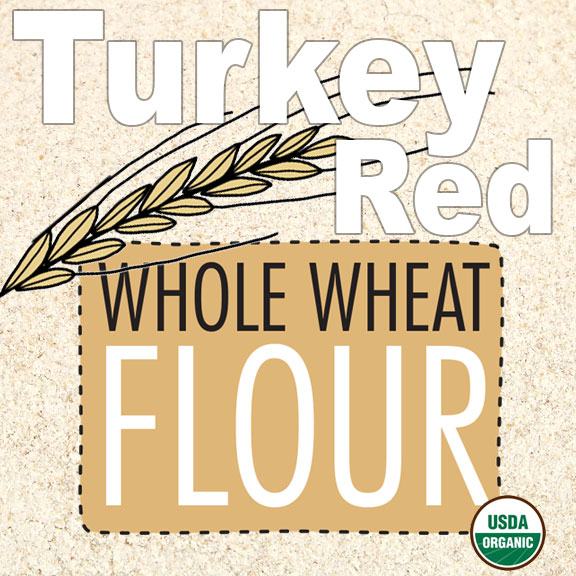 Click to enlarge Organic Turkey Red Whole Wheat Flour