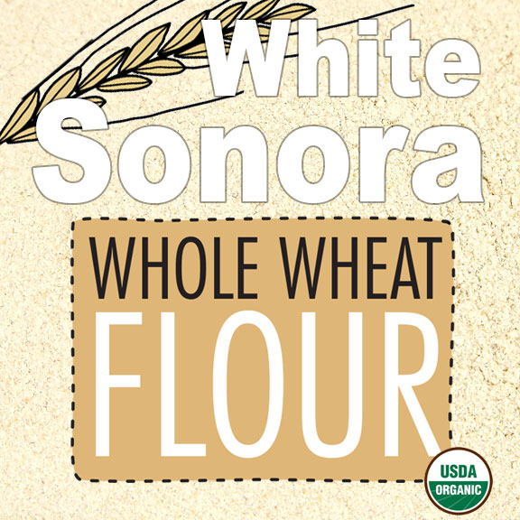 Click to enlarge Organic White Sonora Whole Wheat Flour