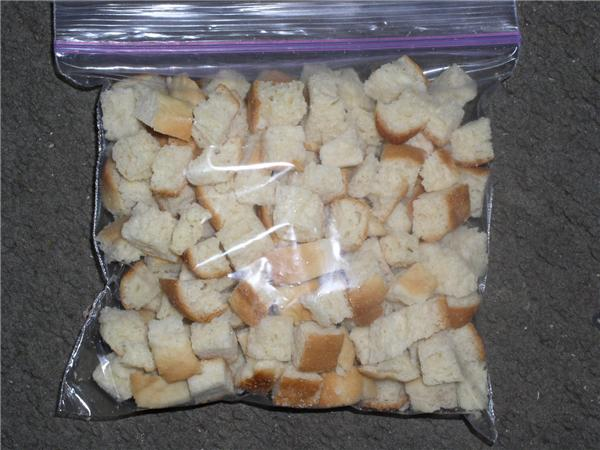 Click to enlarge Unseasoned Croutons