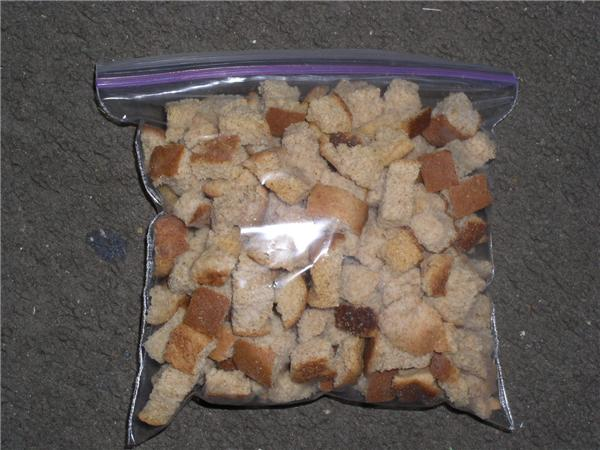 Click to enlarge Unseasoned Whole Wheat Croutons
