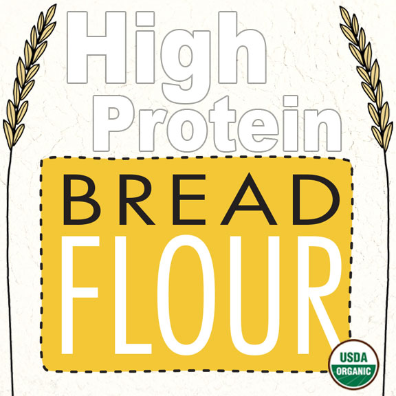Click to enlarge Organic Bread Flour (High Protein)
