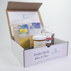 Click to enlarge Breakfast Clover Wheat Gift Box