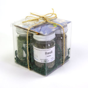 Click to enlarge Dried Herb Gift Box (Italian)