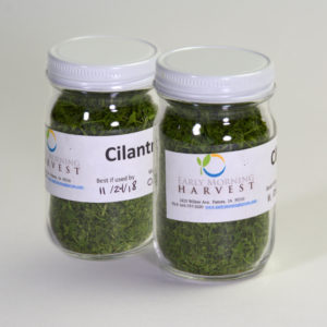 Click to enlarge Dried Cilantro