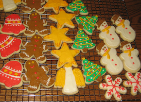 Click to enlarge Frosted Sugar Cutout Cookies (PLEASE NOTE SHAPES WITH ORDER)