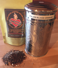 Click to enlarge Italian Blood Orange - Loose Leaf Tea (Caffeine Free)