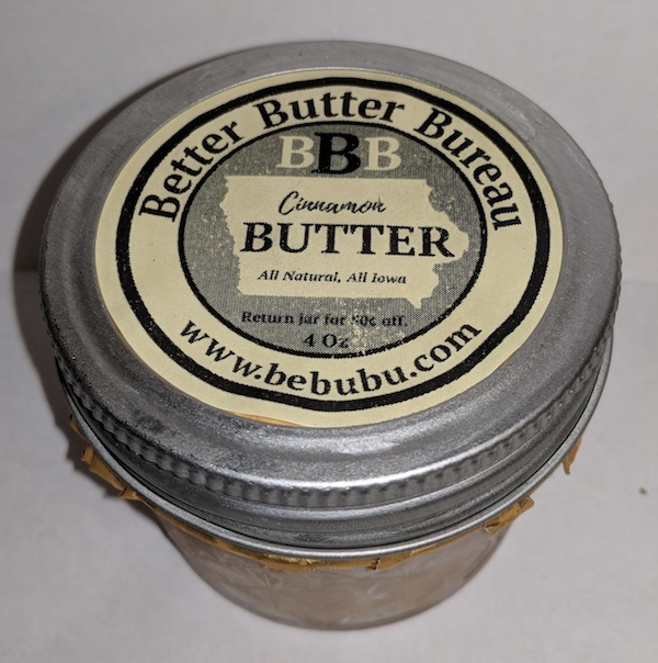 Click to enlarge Cinnamon Butter