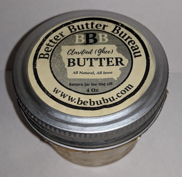 Click to enlarge Clarified (Ghee) Butter