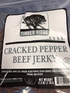 Click to enlarge Whole Muscle Beef Jerky - Cracked Pepper Flavor