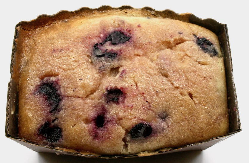 Click to enlarge Gluten Free Blueberry Lemon Pound Cake