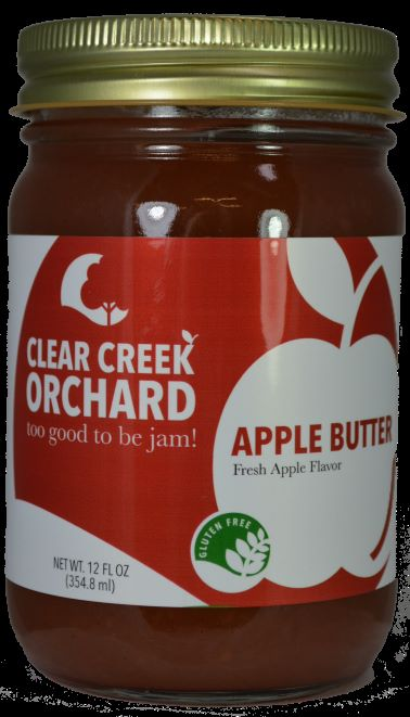 Click to enlarge Apple Butter 12oz Jar