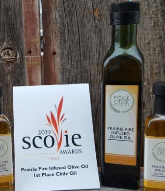 Click to enlarge Prairie Fire Infused Olive Oil