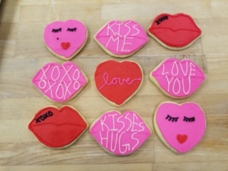 Click to enlarge Valentine Sugar Cookies