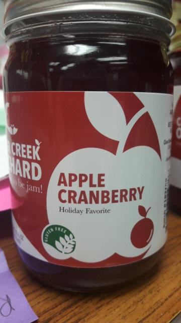 Click to enlarge Apple Cranberry 12oz Jar
