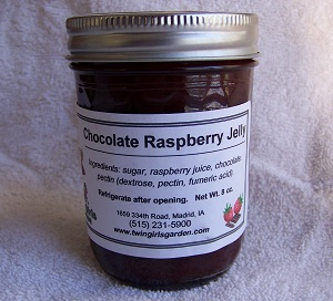 Click to enlarge Chocolate Raspberry Jelly