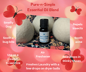 Click to enlarge Pure & Simple Essential Oil Blend