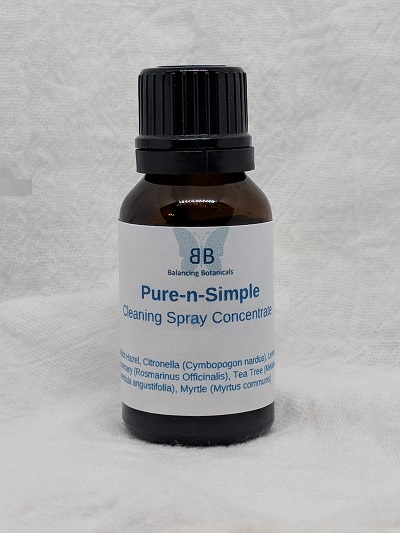 Click to enlarge Pure & Simple Cleaning or Disinfecting Concentrate