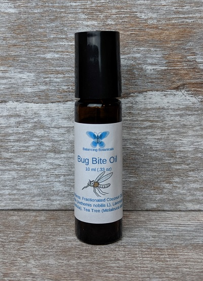 Click to enlarge Bug Bite Roller Bottle Essential Oil Blend