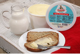 Click to enlarge Hansen Dairy Salted Butter