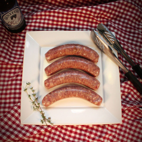 Click to enlarge Mangalitsa Uncured Fully Cooked Hawg Dawgs (Hot Dogs)