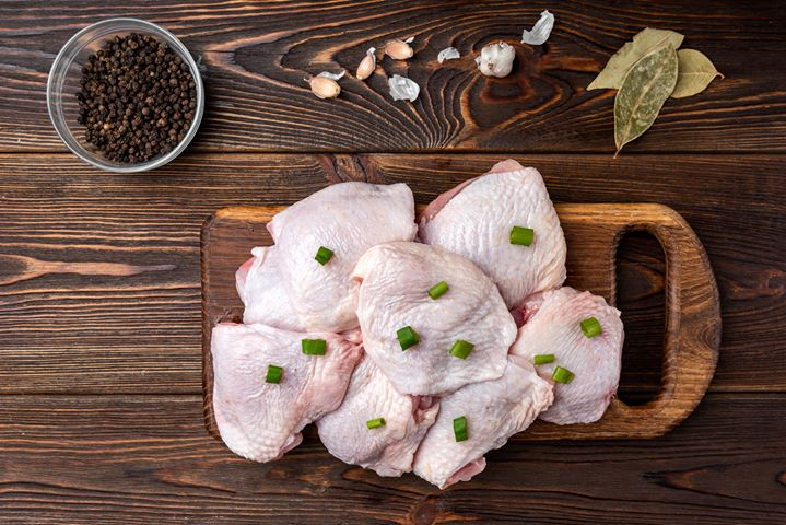 Click to enlarge SALE  Pasture Raised Chicken Thighs