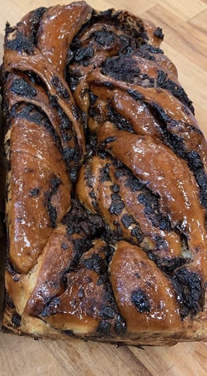 Click to enlarge Chocolate Babka Loaf - Small