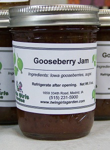 Click to enlarge Gooseberry Jam