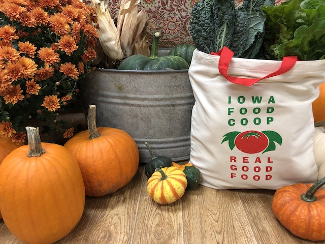 Click to enlarge Iowa Food Cooperative Canvas Bag