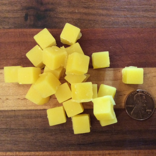 Click to enlarge Beeswax Pastilles Cube Shaped - ounce