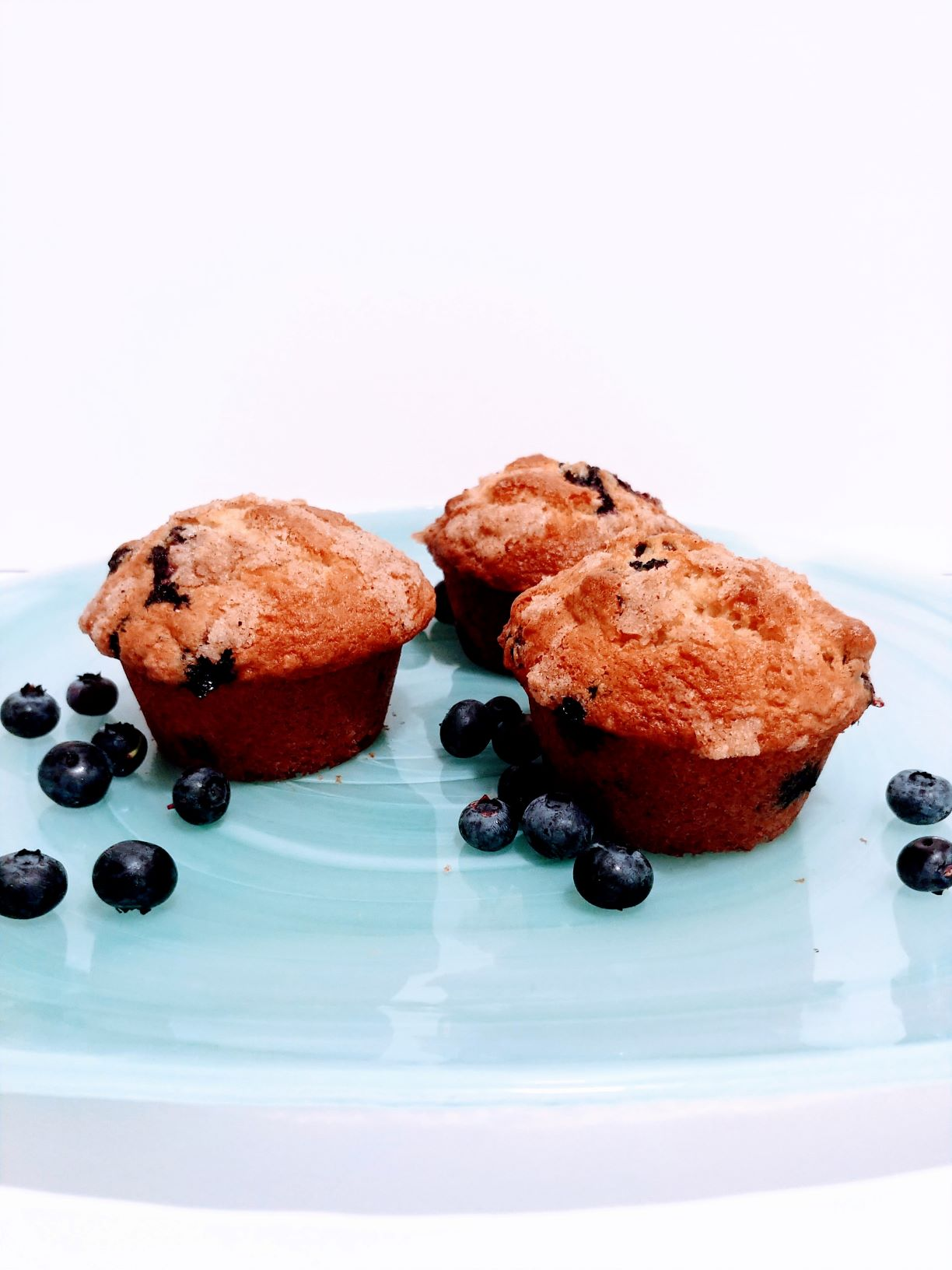 Click to enlarge Blueberry Streusel Muffins