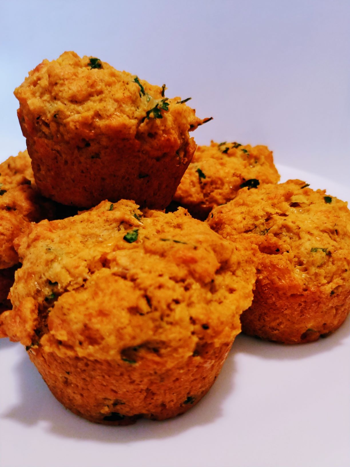 Click to enlarge Garlic Cheddar Muffins