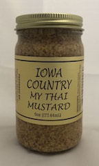 Click to enlarge Iowa Country My Thai Mustard