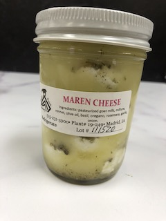 Click to enlarge Maren Goat Cheese