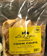 Click to enlarge La Reyna Gluten Free Corn Tortilla Chips