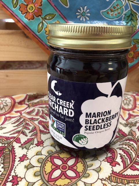 "Click to enlarge Marion Blackberry ""NON-GMO"" 12oz Jar"