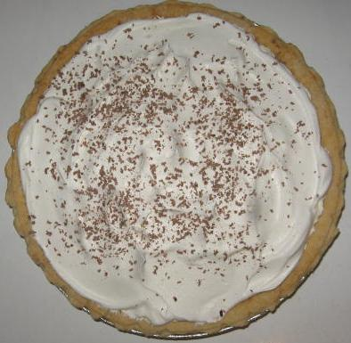 Click to enlarge French Silk Chocolate Pie
