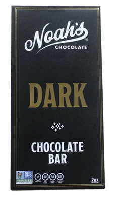 Click to enlarge Noah's Chocolate -Dark Chocolate Bar