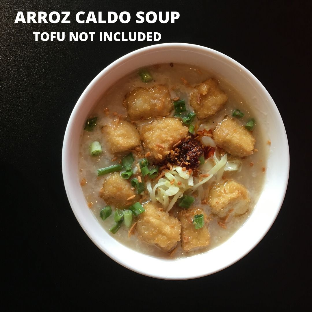Click to enlarge LOLA'S ARROZ CALDO SOUP