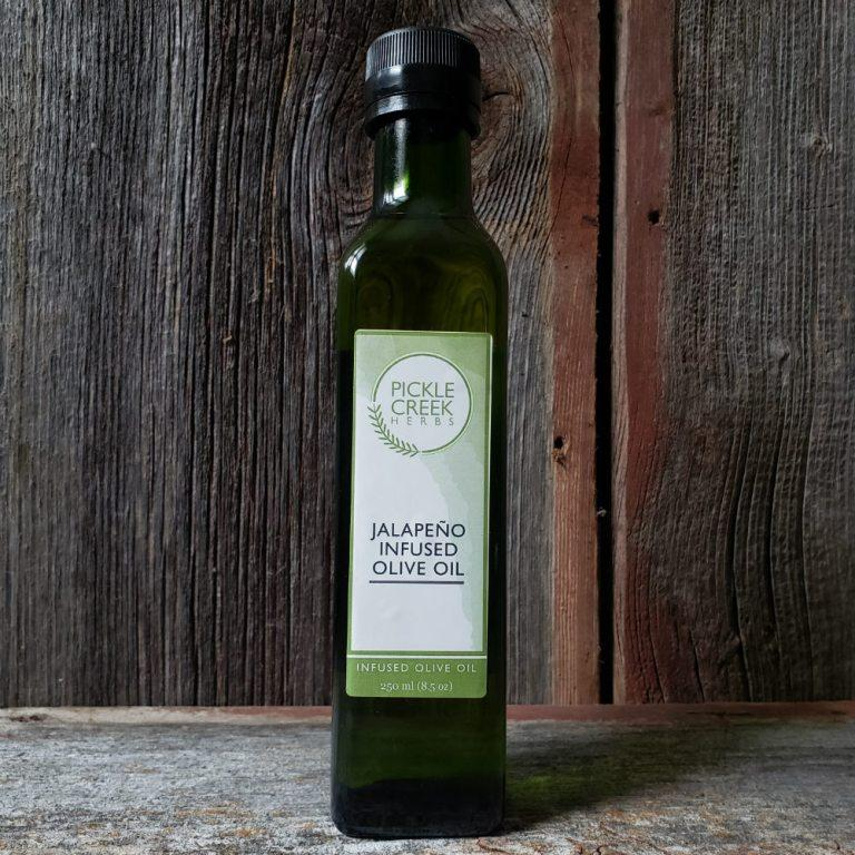 Click to enlarge Jalapeño Infused Olive Oil