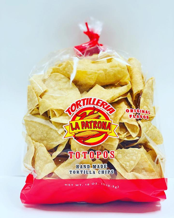 Click to enlarge La Patrona Tortilleria Handmade Tortilla Chips