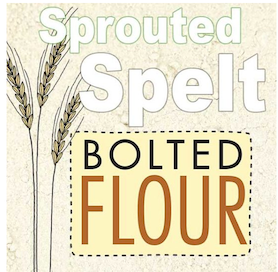 Click to enlarge Sprouted Spelt Whole Wheat Flour 3lb bag