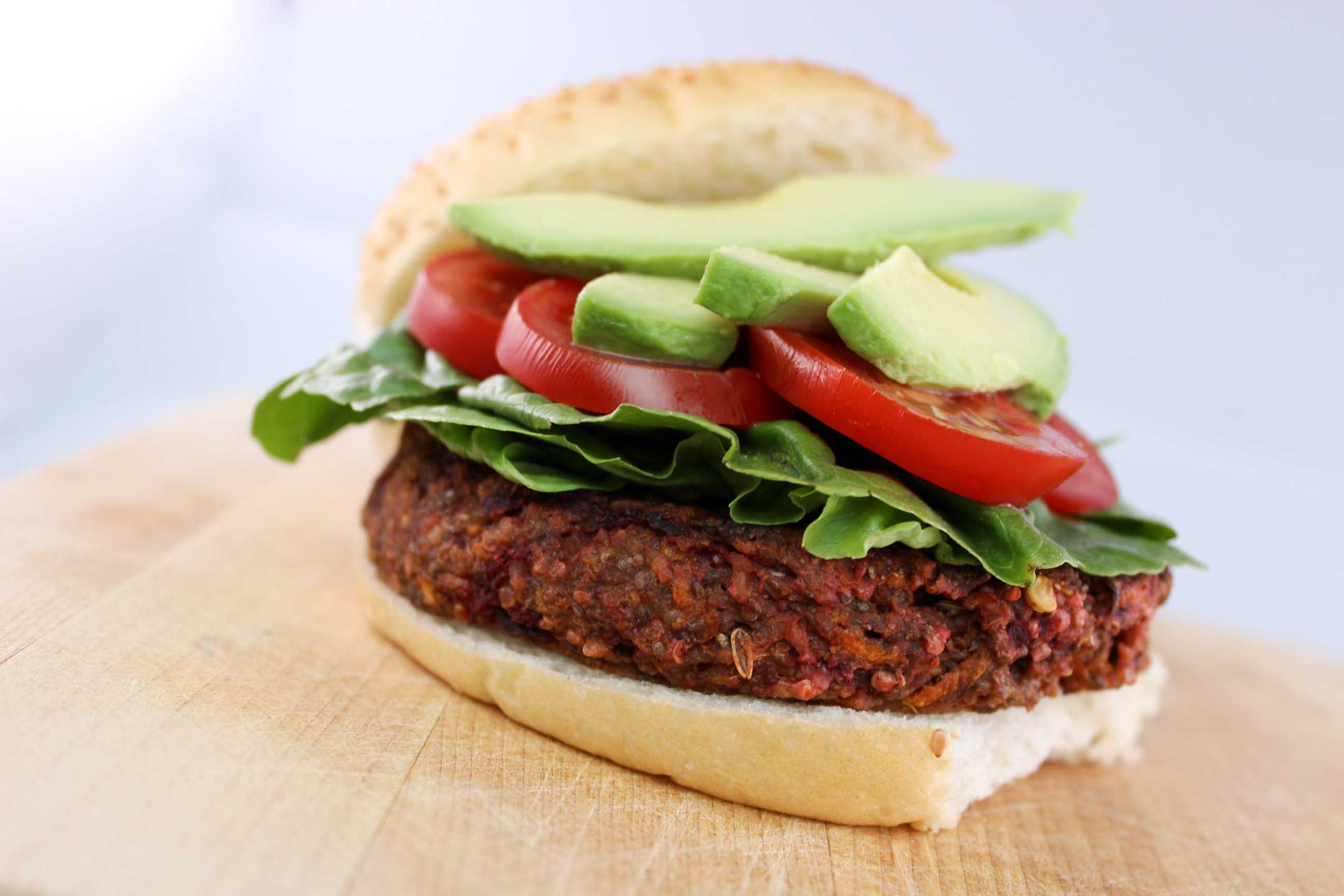 Click to enlarge Veggie Burger Patty